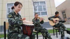 """武警塔城支队:快乐""""五一"""" 点亮军营"""