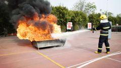 戰略支援部隊某部集中組織安全教育訓練演示觀摩活動