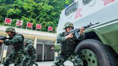 武警崇左支队:实战实训提升制胜能力