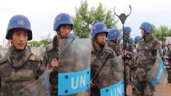 南苏丹爆发大规模武装冲突 中国维和官兵7小时连续护送千余难民