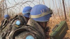 悲痛!战友牺牲 中国维和官兵含泪坚守保卫难民平安