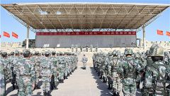 """新疆军区某工兵团举办第八届""""白龙马杯"""" 军事技能比武竞赛"""