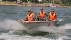 防灾减灾日,看舟桥兵如何水上防汛