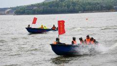 安徽池州:水上应急演练 全力备战汛期