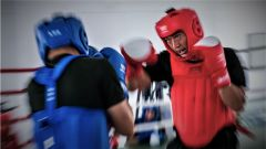 武警贵港支队:搏击训练砺血性 拳拳生风强本领