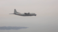 北部战区海军航空兵某部开展反潜训练