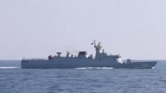 集中火力 舰艇编队围绕高难课目展开专攻精练