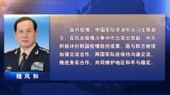 魏凤和同韩国国防部长通电话