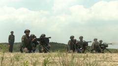 【第一军视】炮火中练精兵  直击武警实战化综合演练现场