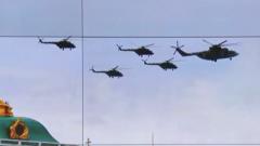 俄将再次举行胜利日空中阅兵