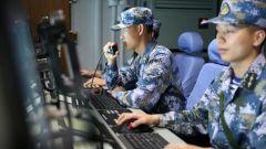 【直击演训场】南海海域 舰艇编队高强度实兵对抗