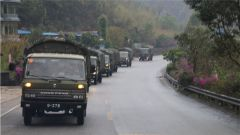 陸軍第75集團軍某旅開展野外駐訓 錘煉官兵過硬素質