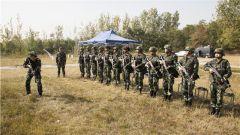 武警宿遷支隊組織勤訓輪換考核 提升部隊軍事訓練水平