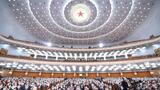5月21日,中国人民政治协商会议第十三届全国委员会第三次会议在北京人民大会堂开幕。 新华社记者 燕雁 摄