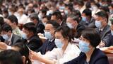 5月21日,中国人民政治协商会议第十三届全国委员会第三次会议在北京人民大会堂开幕。这是委员们在认真听会。 新华社记者 黄敬文 摄