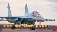 """【军事科普】俄军绰号""""鸭嘴兽""""的先进战机有何特点?"""