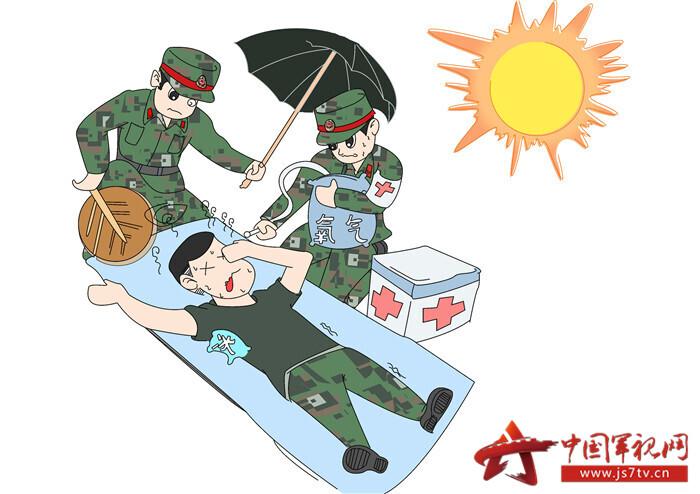 圖1、天氣炎熱做好預防工作至關重要