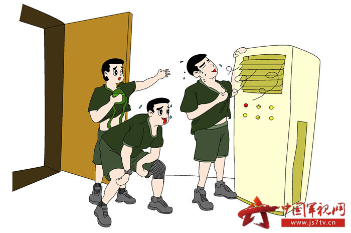圖7、訓練結束勿待在空調房