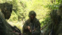 陆军某边防旅山岳丛林间开展武装渗透破袭训练