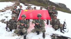 【第一军视】爬冰卧雪挺进4600高地 他们在这里向祖国宣誓