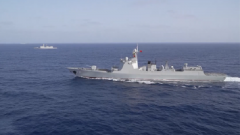 亚丁湾:海军两批护航编队完成分航