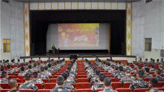 """武警某部机动第八支队举办""""学习主席寄语•抒青春感言""""主题演讲比赛"""