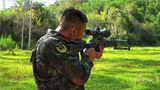 站姿据枪训练