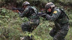 武警庆阳支队:黄塬绿岭展英姿 实战演练谋打赢