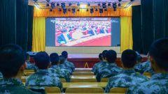 沈阳联勤保障中心某部:聚焦两会  建功新时代