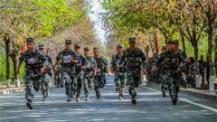 新疆军区某师举办创破纪录比武竞赛 锤炼硬核尖兵