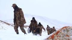 地势险峻环境恶劣 很多边防哨所的军事训练难以展开