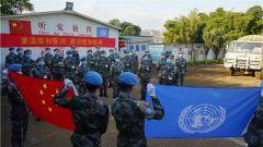 中国第二十三批赴刚果(金)维和医疗分队:重温维和誓词  建功维和战场