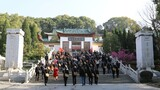 社会各界纷纷来到董必武纪念馆开展红色教育。