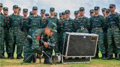 无限接近战场!武警广西总队开展特战专业集训