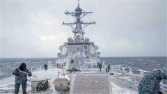 """专家:为警告北约别染指巴伦支海 俄媒爆美军舰被""""冻""""黯然离去"""