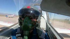 【直击演训场】飞行学员自由空战 全程自主制订战术