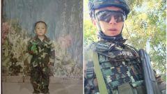 兵哥哥的童年照:兒時的夢想長大后都實現了