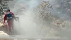 山火蔓延 伊朗出动军队参与灭火