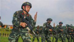 武警广西总队开展士官预备特战队员集训 夯实反恐人才队伍质量