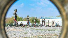 新疆军区某团组织开展群众性练兵比武竞赛