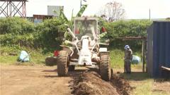 剛果(金):中國維和官兵修建維和部隊輪換中轉隔離中心
