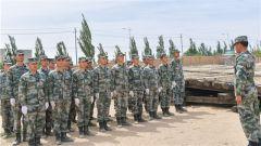 搭设临时站台 全面提升部队战时保障能力