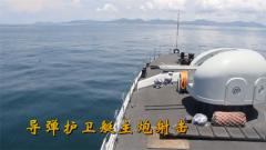 火力全开!驻香港部队海军实弹训练来了