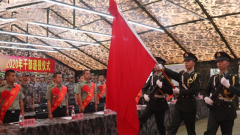 告別軍營!陸軍第75集團軍某紅軍旅舉行2020年干部退役儀式