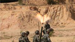 燃!陆军第75集团军某旅组织迫击炮战术考核及实弹射击考核