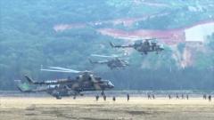 【直擊演訓場】陸軍第72集團軍某陸航旅:一機多繩機降 提升作戰效能