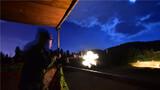 夜间实弹射击训练