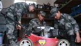 修理营区机械