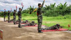 武警梅州支隊組織預備特戰隊員開展實彈射擊訓練