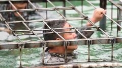 极限挑战!侦察兵如何在水下笼中进行自我解救?